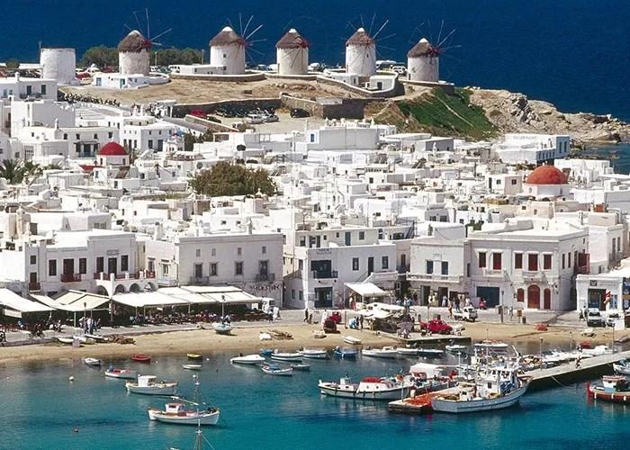 Cruise Greek Islands Turkey Mykonos Island Greece old port