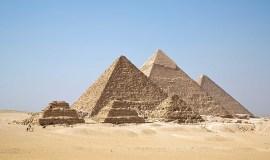 Cairo Egypt All Gizah Pyramids