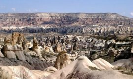 Cappadocia Turquía Vista General