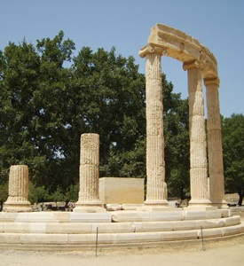 Olympia_Greece_Philipion_Tholos