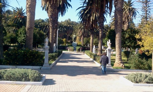 Chios Island Greece Park