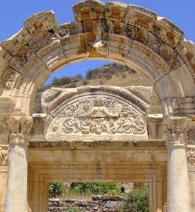 Ephesus_Turkey_Temple_of_Hadrian