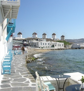 Mykonos_Myconos_Island_Greece_little_venice 3 days Cruise Mykonos Athens