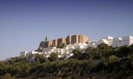Patmos isla Grecia el castillo