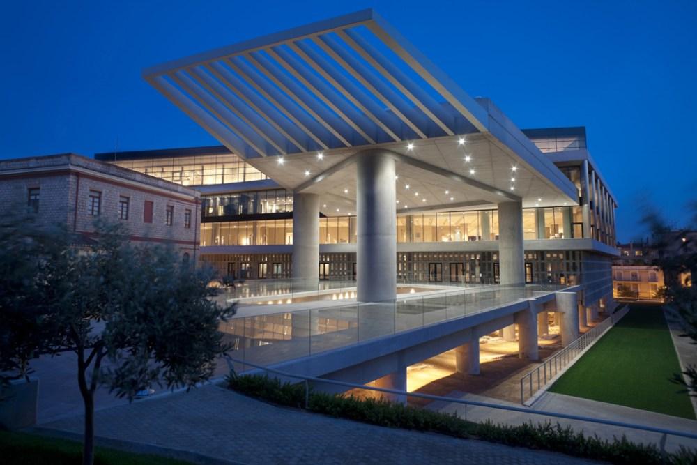 Museo de la Acrópolis de Atenas Grecia Grecia Turquía Atenas Estambul