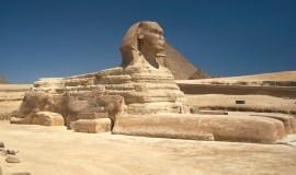 El Cairo Egipto la gran esfinge de Giza