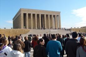Ankara Turquía mausoleo de Kemal Ataturk Estambul Ankara Capadocia Dubai