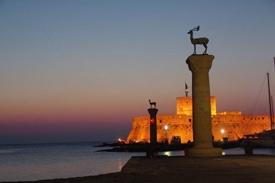 Rhodes-Greece-Sunrise