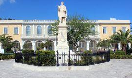 Zakynthos_Greece_Dionysios_Solomos_statue