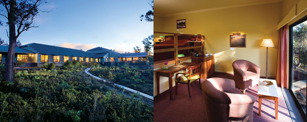 Cradle Mountain Hotel - King Spa Room