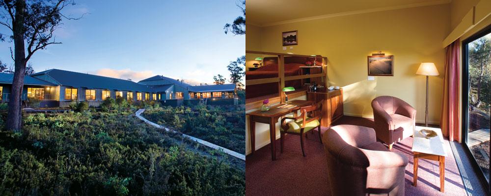 Cradle Mountain Hotel - King Spa Room