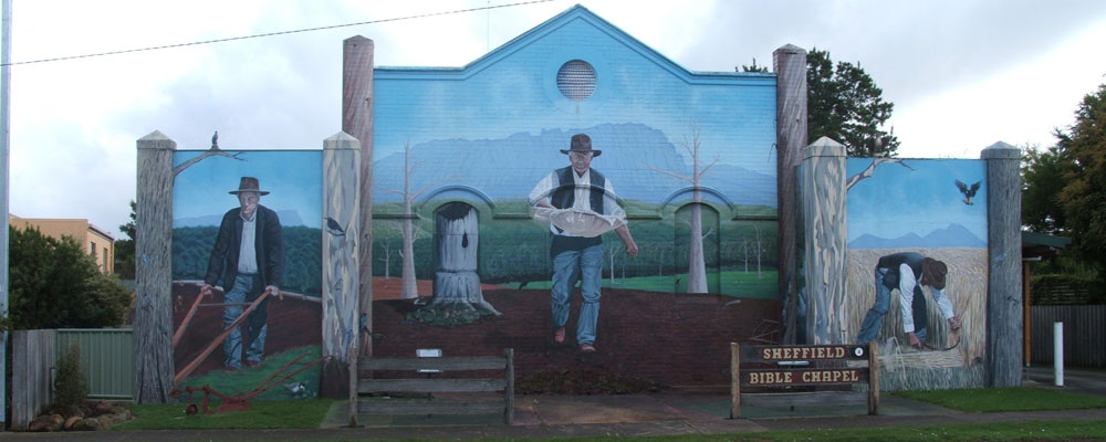 Sheffield - The Town of Murals
