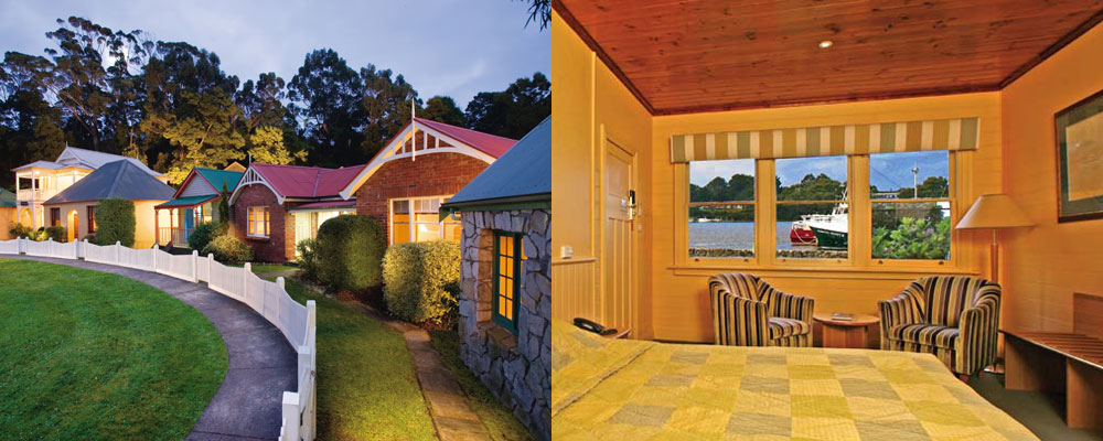 Strahan Village Waterfront Cottages