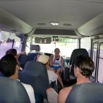 Bus to Embera Village