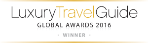 Luxury Travel Guide Winner Logo
