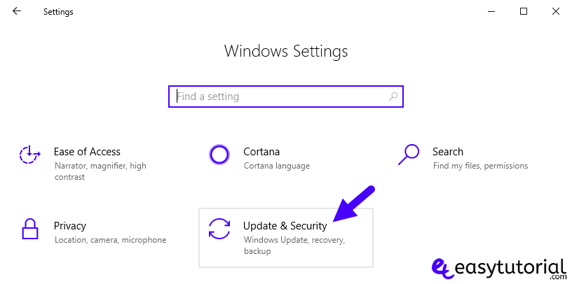 Disable Stop Turn Off Windows Update 10 Service 1 Settings Update Security