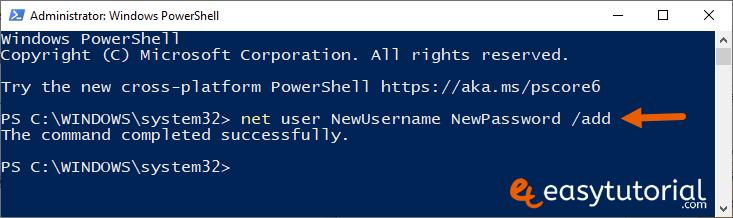 Fix Start Menu Doesnt Open Problem Solution Solved Windows 10 10 Powershell Net User Newusername