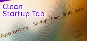Clean Remove Entries Task Manager Startup Tab Easy Tutorial