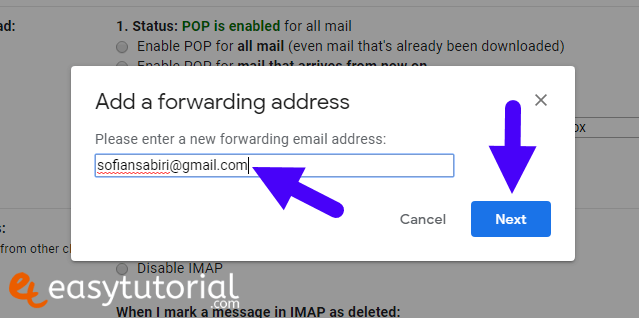 Forward Gmail Messages Another Account 2