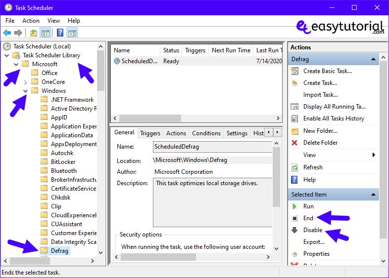100 Disk Usage Fix Fixed Solved Solution Error Problem Windows 10 8 Defrag Disable End