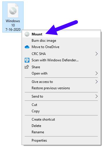Fix Corrupt Windows 10 Files 12 Mount Windows 10 Iso