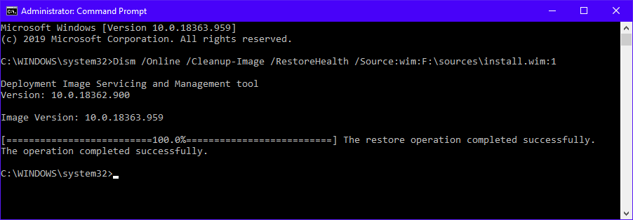 Fix Corrupt Windows 10 Files 14 Dism Online Cleanup Image Restorehealth Source Wim Source Install Iso