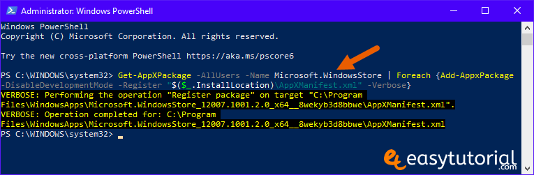 Fix Repair Fixed Solved Microsoft Store Windows 10 6 Reinstall Windows Microsoft Store Powershell
