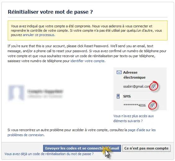 Comment rcuprerrestaurer un compte Facebook pirat