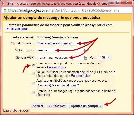 mail gmail pop3 4