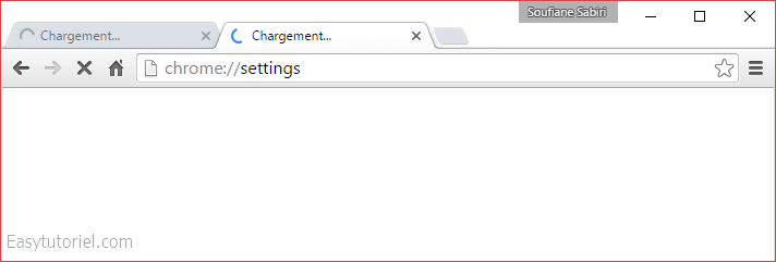 probleme chargement google chrome
