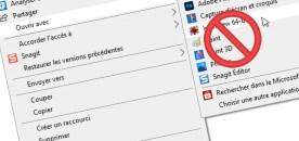 Supprimer des programmes du menu «Ouvrir avec» sur Windows 10
