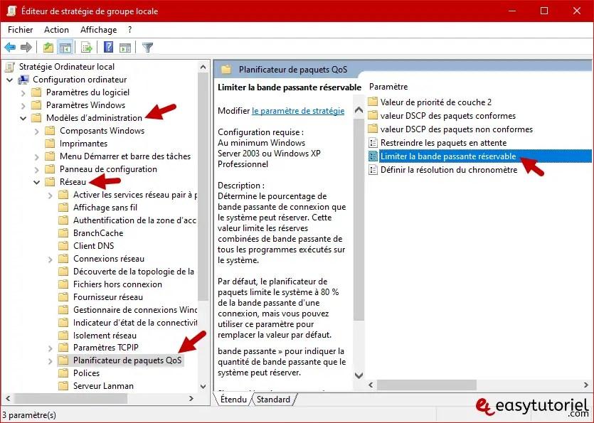 Accelerer Telechargement Google Chrome Windows 14 Limiter La Bande Passante Reservable