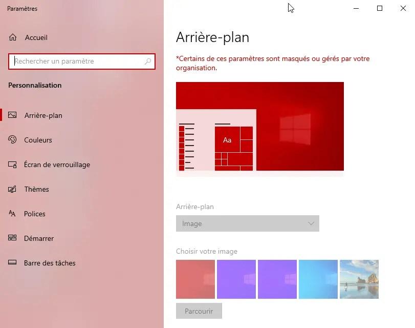 Fond D Ecran Par Defaut Tous Les Utilisateurs Windows 10 6