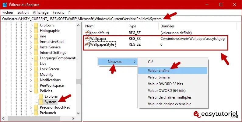 Fond D Ecran Par Defaut Tous Les Utilisateurs Windows 10 8