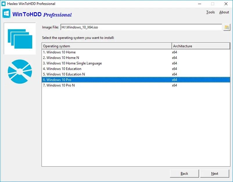 تحميل برنامج  WinToHDD لتثبيت الويندوز علي الكمبيوتردون الحاجة الي سي دي او فلاشة