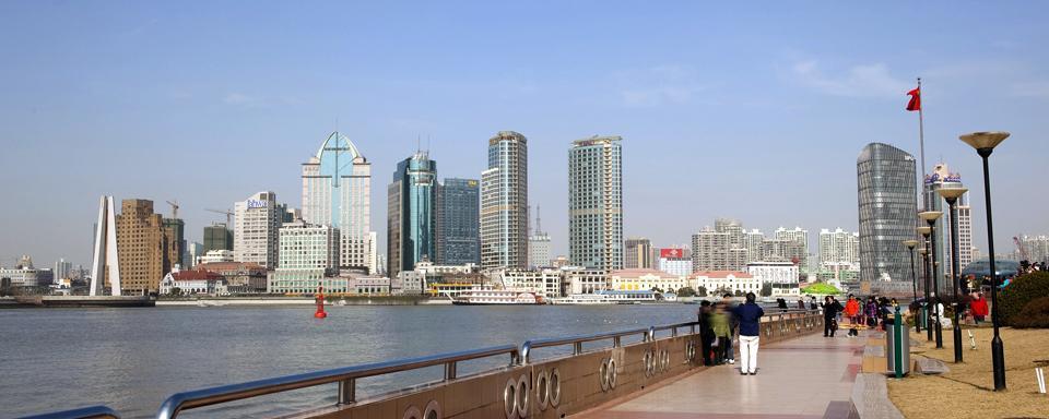 Shanghai  Il Bund  Shanghai e dintorni  Cina