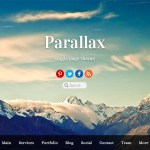 The Themify Parallax theme