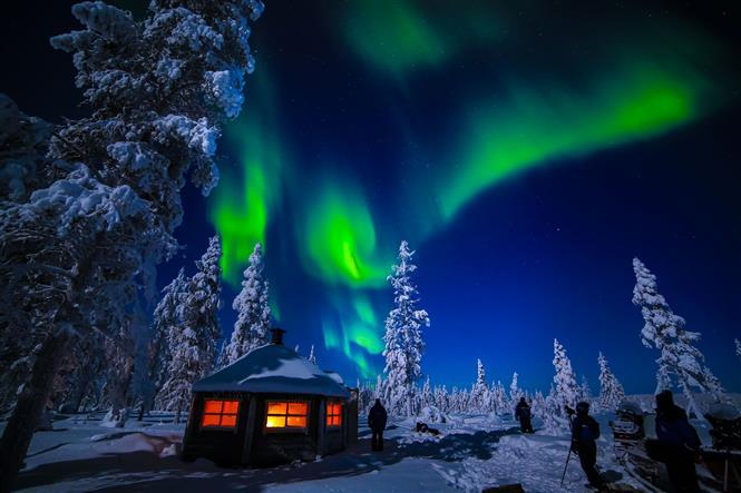 Aurora Boreale a Saariselka  Finlandia prezzi on line Easyweeks