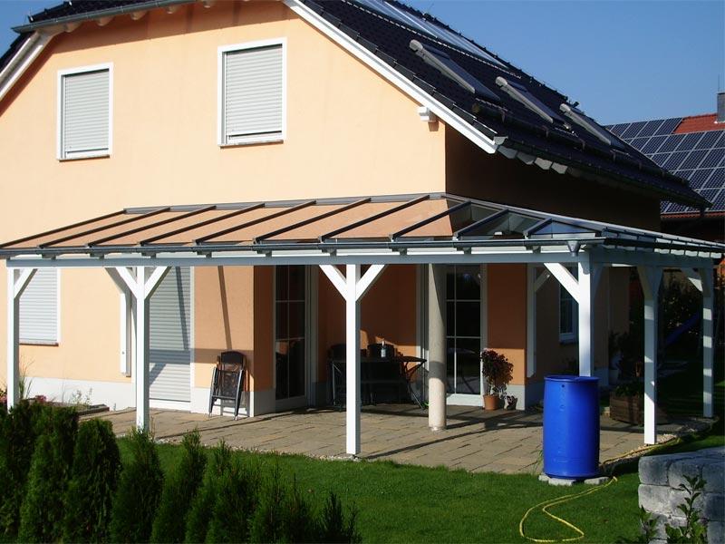 Terrassenüberdachung Mit Glas Selbst Bauen ➤ Mit Verlegeprofile