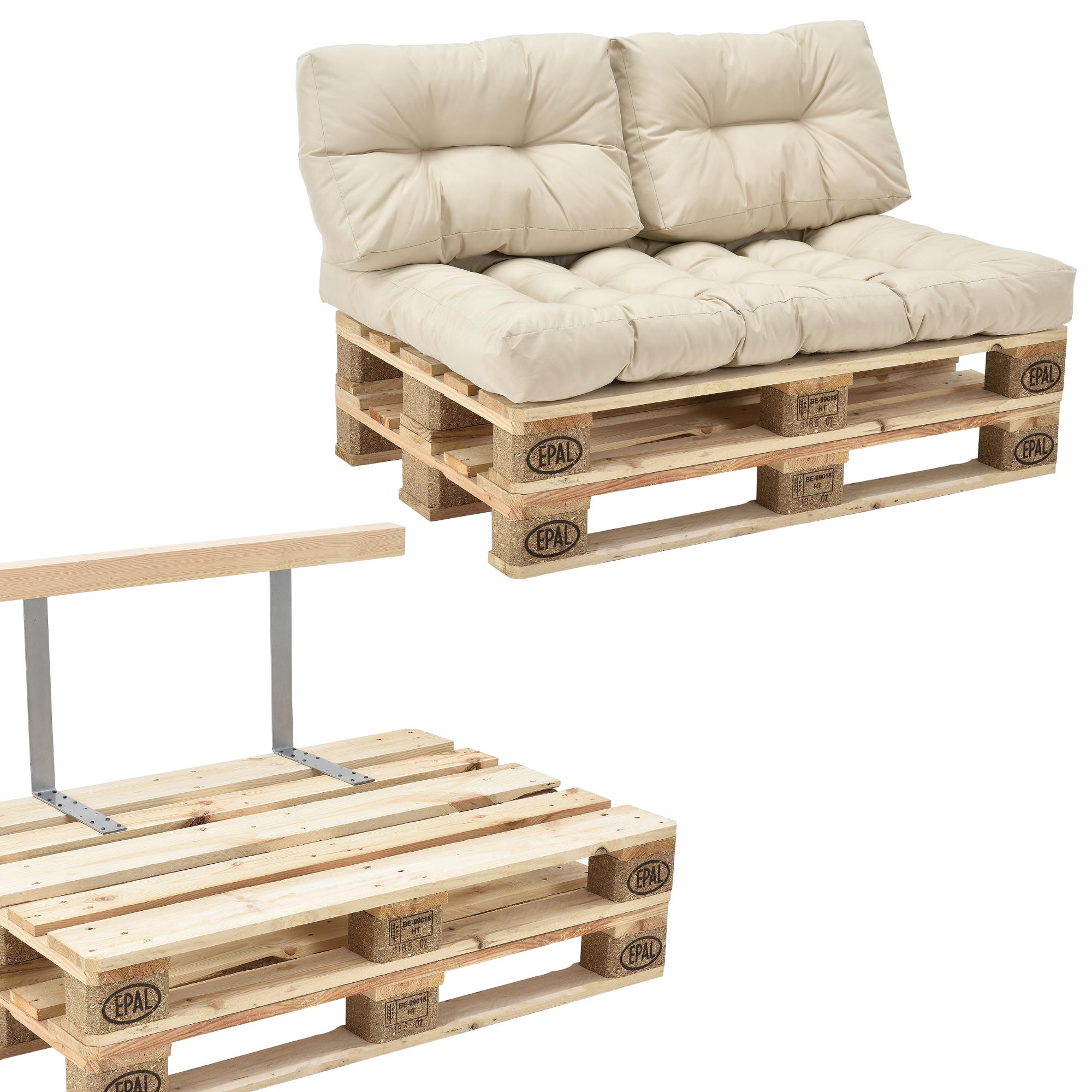 euro sofa mondo cheap sectional sofas portland en casa pallet divano cuscino beige 2 posti