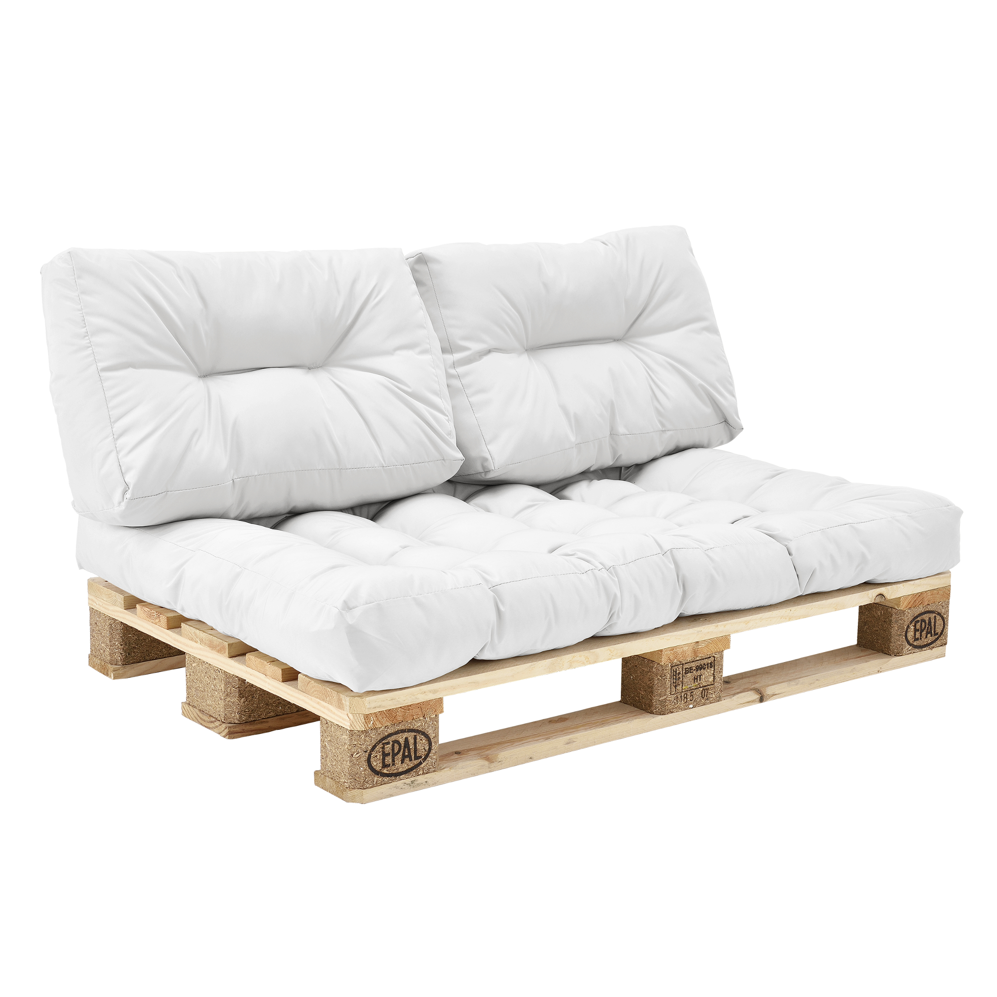 pallet sofa for sale teal leather en casa 1x seat pad cushions in outdoor pallets