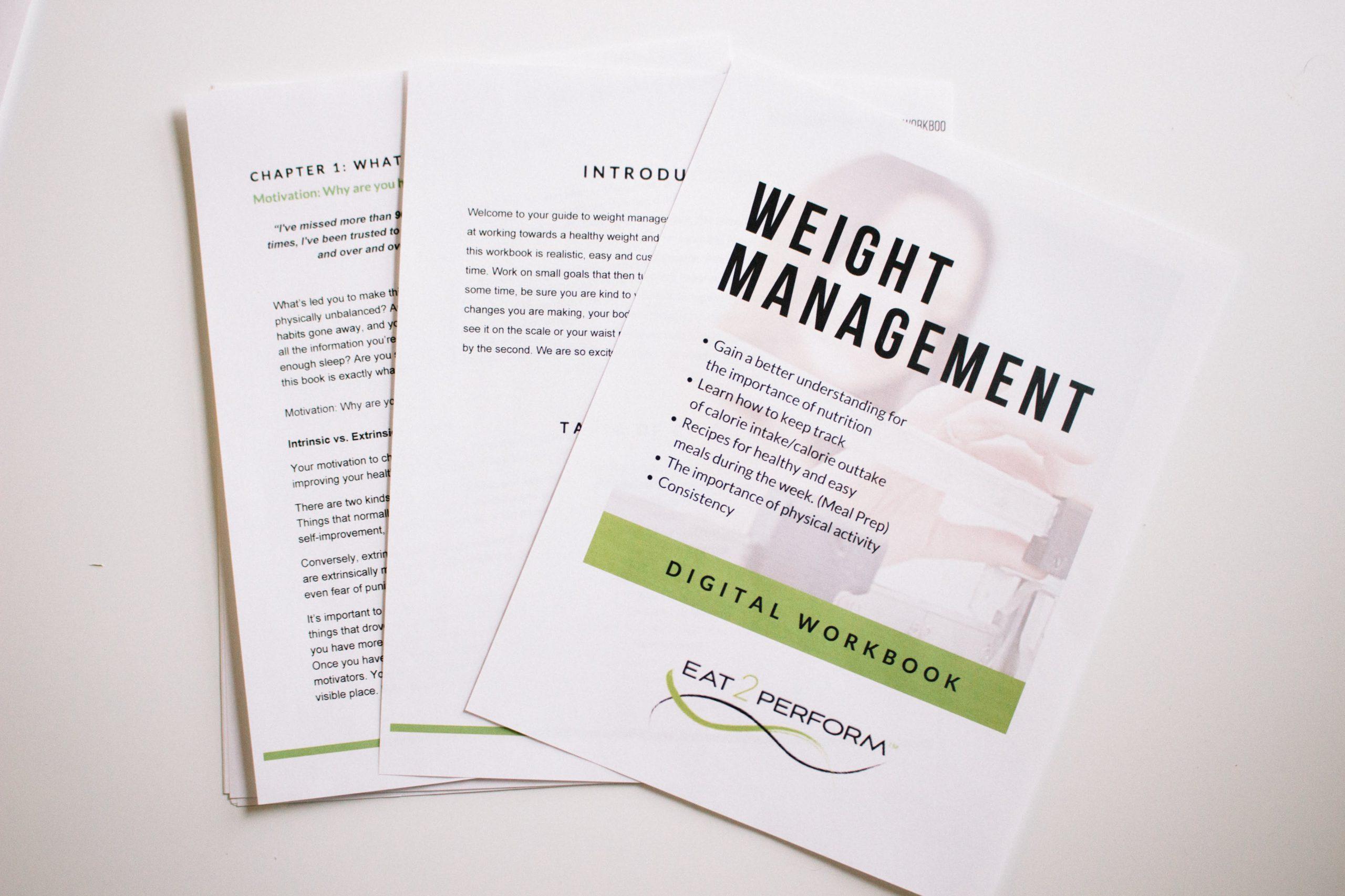 Weight Management Workbook