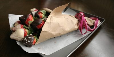 Dairy Free Chocolate Covered Strawberries Bouquet – Gluten Free, Dairy Free, Egg Free, Nut Free, Vegan