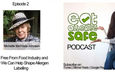 Episode 2: The Free From Food Industry and How We Can Help Shape Allergen Labelling With Michelle Berrydale-Johnson