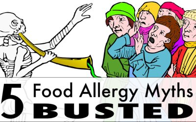 5 Things Food Allergies Are Not