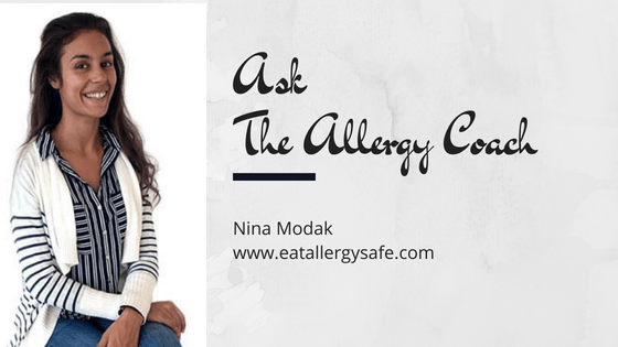 Ask The Allergy Coach Q4: What can I use as dairy and refined sugar substitutions?