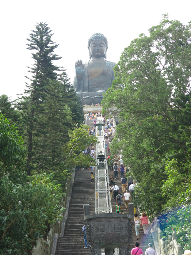 Big Buddha Statue 268 steps