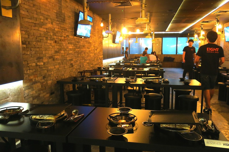 Eight Korean BBQ in Singapore, Clark Quay Central