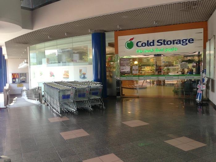 King Albert Park (KAP) Cold Storage in Bukit Timah, Singapore
