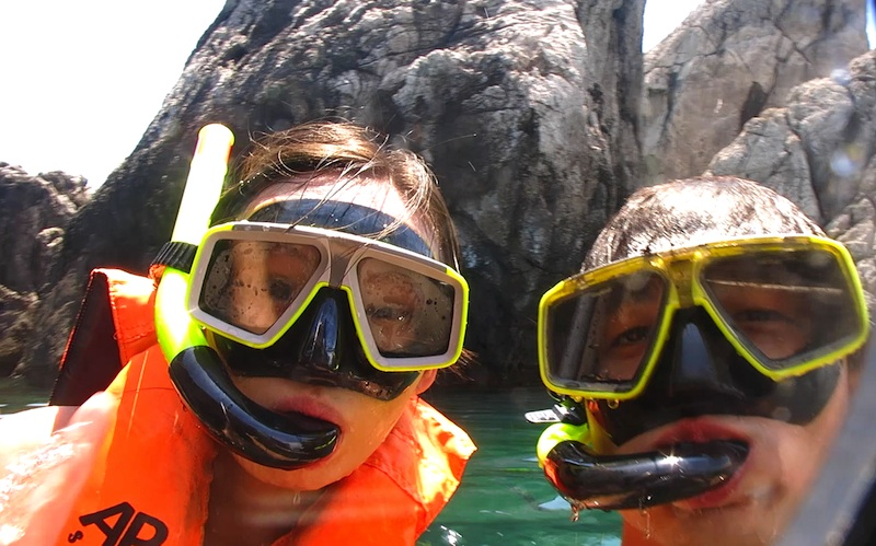 Krabi Snorkeling Four Islands Selfie